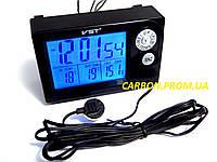 Часы термометр вольтметр для автомобиля VST 7048V для ВАЗ 2110