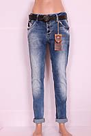 Женские турецкие джинсы бойфренды Red Bluе , фото 1