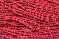 Шнур 5мм с наполнителем (50м) красный
