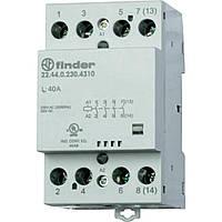 Контактор 22.44.0.230.4310 Finder 40A 4НО, 220-240B AC/DC