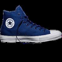 Оригинальные кеды Converse All Star Chuck Taylor II, Sodalite Blue , фото 1