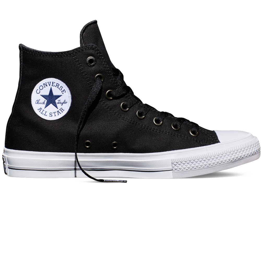 Оригинальные кеды Converse All Star Chuck Taylor II, Black/White/Navy