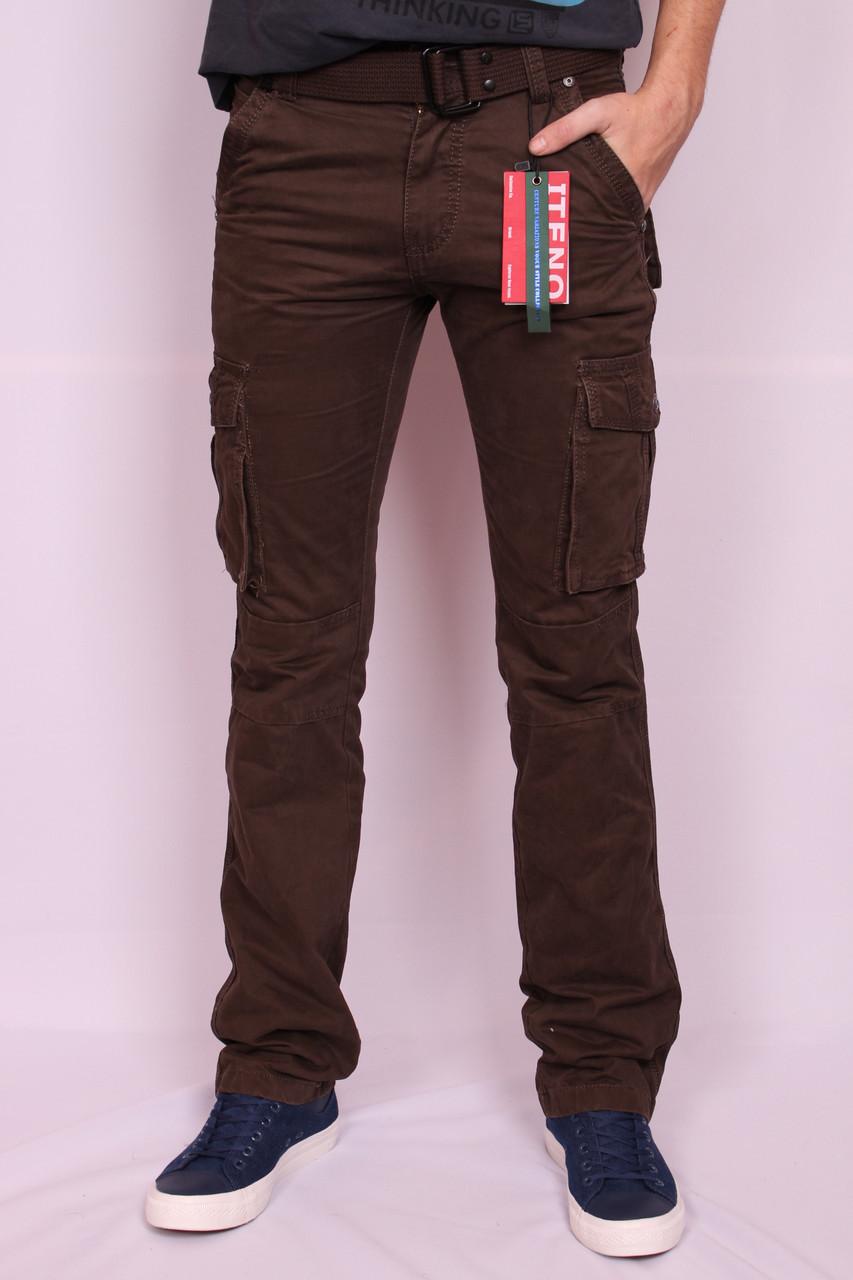 """Мужские джинсы-карго """"Iteno""""30-38 размеры.( есть другие расцветки ), фото 1"""
