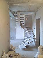 Профессиональная заливка железобетонных лестниц