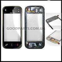 Сенсорный экран (тачскрин) для Nokia N97 черный high copy