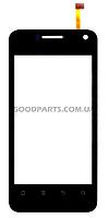 Сенсорный экран (тачскрин) для Huawei S8600 черный (Оригинал)