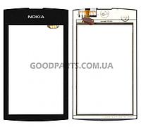 Сенсорный экран (тачскрин) для Nokia 305, 306 Asha черный high copy