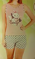 """Женская пижама """"Nicoletta"""" №80575 (шорты)"""