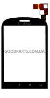 Сенсорный экран (тачскрин) для Huawei U8150 черный (Оригинал)