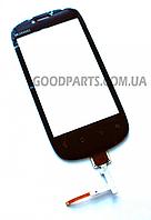 Сенсорный экран (тачскрин) для Huawei U8850 черный (Оригинал)