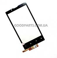 Сенсорный экран (тачскрин) для Huawei U9000 Ideos X6 Ascend X, ViewSonic ViewPad 4 черный (Оригинал)