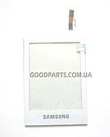 Сенсорный экран (тачскрин) для Samsung C3300 белый (Оригинал)