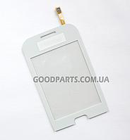 Сенсорный экран (тачскрин) для Samsung C3312 белый high copy