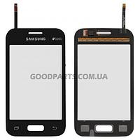 Сенсорный экран (тачскрин) для Samsung G130e Galaxy Star2 черный (Оригинал)