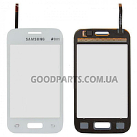 Сенсорный экран (тачскрин) для Samsung G130e Galaxy Star2 белый (Оригинал)