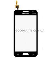 Сенсорный экран (тачскрин) для Samsung G355h Galaxy Core 2 черный high copy