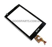 Сенсорный экран (тачскрин) для Samsung I6410 черный (Оригинал)