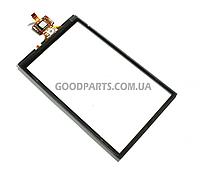 Сенсорный экран (тачскрин) для Samsung I8320 черный high copy