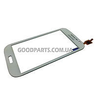 Сенсорный экран (тачскрин) для Samsung I9082 Galaxy Grand Duos белый high copy