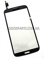 Сенсорный экран (тачскрин) для Samsung I9200 Galaxy Mega 6.3, I9205 Galaxy Mega 6.3 синий (Оригинал)