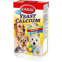 Sanal Yeast Calcium 100г -витамины для собак (SD2000) в таблетках