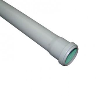 Труба каналізаційна Ø 50 L 1000 mm.