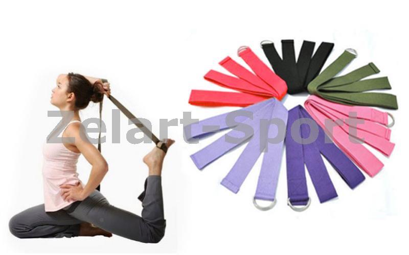 Ремень для йоги FI-4943 ( р-р 183 x 3,8см) - Интернет-магазин Sport2012 в Днепре