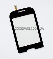 Сенсорный экран (тачскрин) для Samsung S3770 черный high copy