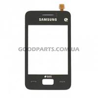 Сенсорный экран (тачскрин) для Samsung S5220, S5222 черный (Оригинал)