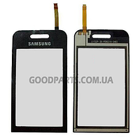 Сенсорный экран (тачскрин) для Samsung S5230 черный high copy
