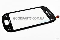 Сенсорный экран (тачскрин) для Samsung S5292 черный (Оригинал)