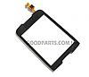 Сенсорный экран (тачскрин) для Samsung S5570 Galaxy mini черный (Оригинал)