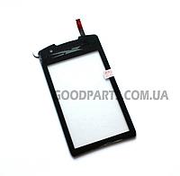 Сенсорный экран (тачскрин) для Samsung S5620 Monte черный high copy