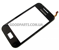Сенсорный экран (тачскрин) для Samsung S5830 Galaxy Ace черный (Оригинал)