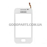 Сенсорный экран (тачскрин) для Samsung S5830 Galaxy Ace белый high copy