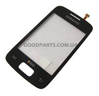 Сенсорный экран (тачскрин) для Samsung S6102 Galaxy Y Duos черный (Оригинал)