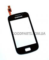 Сенсорный экран (тачскрин) для Samsung S6500 Galaxy mini 2 черный high copy
