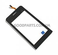 Сенсорный экран (тачскрин) для Samsung S7230 черный high copy