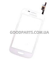 Сенсорный экран (тачскрин) для Samsung S7270, S7272, S7275 Galaxy Ace 3 белый (Оригинал)