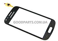 Сенсорный экран (тачскрин) для Samsung S7562 черный high copy