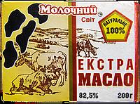 Масло сливочное Экстра 82,5%, ГОСТ 200 г