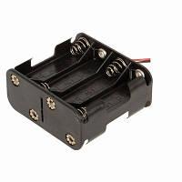 Бокс на 8 АА батареи, 12V кейс, питание Arduino