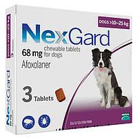 Merial NexGard - жевательная таблетка для защиты собак  10-25кг  (3таблетки)