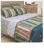 Комплект постельного белья Авангард евро размер