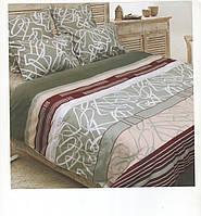 Комплект постельного белья Леон евро размер