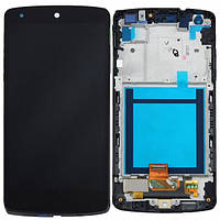 Дисплей (экран) LG Google Nexus 5 D820, D821 с сенсором (тачскрином) черный