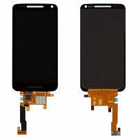Дисплей (экран) Motorola XT901 Electrify M с сенсором (тачскрином) черный