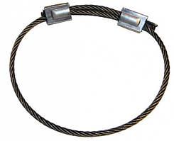 Строп канатный кольцевой СКК до 20 тонн, канатный кольцевой строп, стропы СКК, канатные стропы