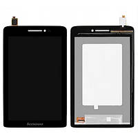✅Дисплей (экран) Lenovo S5000 IdeaPad с сенсором (тачскрином) и рамкой черный