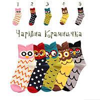 Детские носки Сова